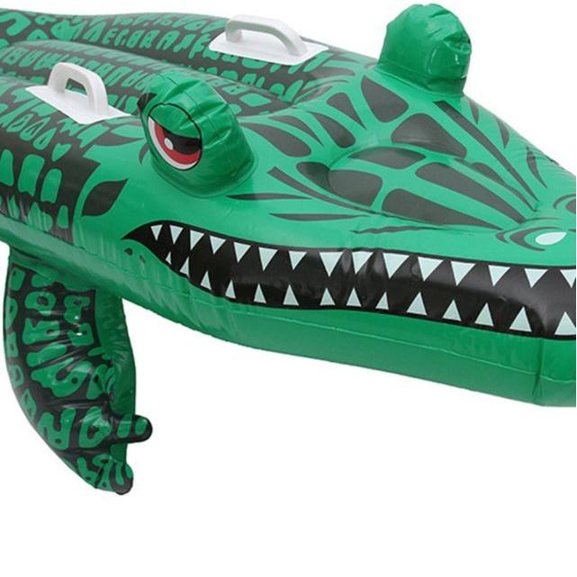Nafukovací lehátko krokodýl